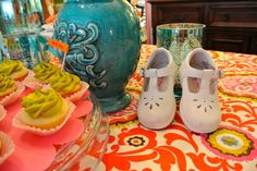 Colorful Book themed baby shower -Living With Color Designs