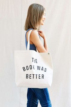 The Book Was Better Tote | 33 Impossibly Cute Ways To Cover Your Body In Books