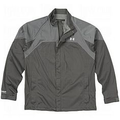 Under Armour Mens AllSeasonGear Ultimate Rain Jackets Charcoal/Graphite Small $99.95