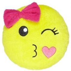 Smiley Face Pillow   Girls Room Decor from Justice