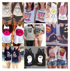 """""""You and you BFF's matching Top"""" by onedirection-5sos-preferences122 ❤ liked on Polyvore"""