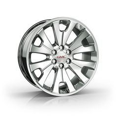 Yukon Denali XL 22 inch Wheels, Manoogian Silver, CK161 SFO: Personalize your Yukon Denali XL with these 22-Inch Chrome Accessory Wheels.