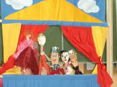 Theatre of glove puppets