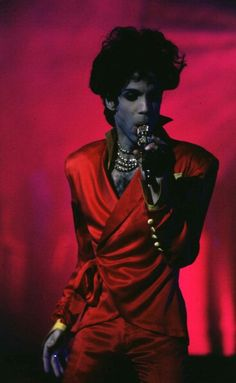 Classic Prince | 1993 Act/Act II Tour in an awesome crimson red outfit!