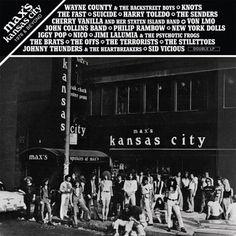 TVD Radar: Max's Kansas City: 1976 & Beyond expanded vinyl reissue in stores 5/5 - The Vinyl District