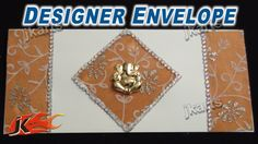 DIY Designer  Envelope for Wedding JK Arts 234