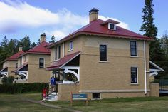 Lighthouse Keepers Home at Split Rock Lighthouse by Pictures by Ann, via Flickr