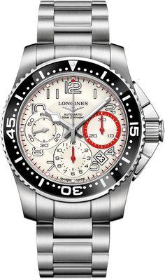 L3.696.4.13.6, L36964136, Longines hydroconquest watch, mens