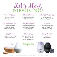 Learn about essential oils and other Young Living Products Raven Essential Oil, Essential Oil Starter Kit, Essential Oils For Pain, Essential Oil Diffuser Blends, Essential Oil Uses, Doterra Essential Oils, Young Living Essential Oils, Yl Oils, Diffuser Recipes