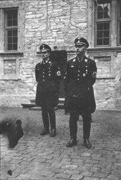 Heinrich Himmler and Karl Wolff