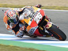 Blog Esportivo do Suíço: Pedrosa domina corrida na Espanha com drama para Rossi