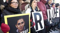 Saudischer Blogger Badawi findet keinen Anwalt - Ensaf Haidar, Ehefrau des saudischen Bloggers Raif Badawi, der zu 1.000 Peitschenhieben verurteilt - Die Ehefrau des zu Peitschenhieben verurteilten Bloggers Raif Badawi hofft auf deutsche Hilfe. Mit der ZEIT sprach sie über die verzweifelte Lage ihrer Familie. http://www.zeit.de/gesellschaft/zeitgeschehen/2015-01/saudi-arabien-raif-badawi-blogger-interview-ehefrau-ensaf-haidar