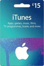 Image result for itunes gift card £15