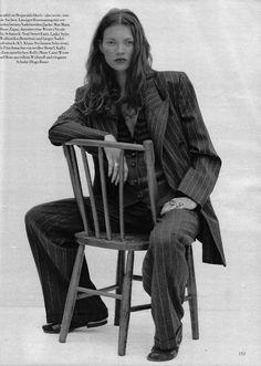 Kate Moss for Harpers Bazaar '92