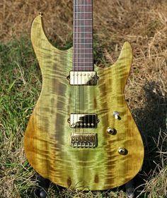 Light - Flame Myrtle - Custom Guitar