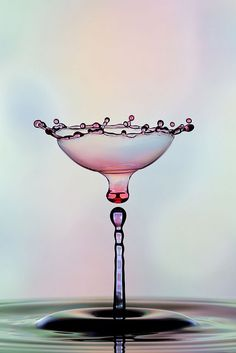 Floating Martini Glass by Corrie White
