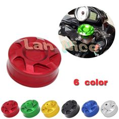 Motorcycle Accessories Front Brake Reservoir Cover For YAMAHA YZF 600 R6 1000 R1 2000-2014