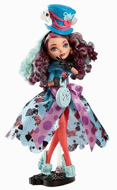 Ever After High Way Too Wonderland Madeline Hatter...I don't have her yet...might have to get her.