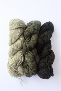 Spinning Yarns Weaving Tales - 'Lichen this' 100% Merino Laceweight Yarn sample pack for Knitting, Crochet, Warp & Weft $14.75 AUD