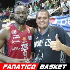 by @diegoj15 #FanaticoBasket  Con el acrobatico @lpb_aldia @cocodrilosdeccsbaloncesto