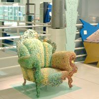 CAPPELLINI - Proust armchair by Alessnadro Mendini