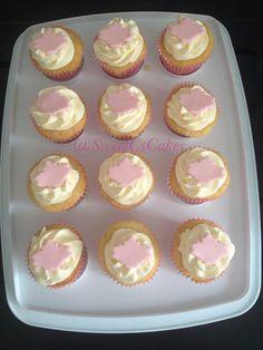 1st Birthday Cupcakes Canadian Theme