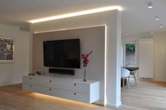 Wohnraumgestaltung - Wohnmöbel nach Maß im Münsterland: moderne Wohnzimmer von Klocke Möbelwerkstätte GmbH