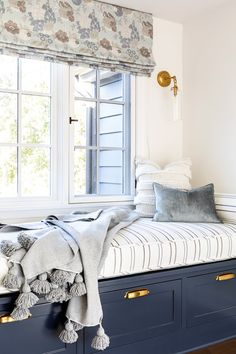 Youthful energy, bold colors, and quirky design accent this Altadena home. Bold Colors, Houzz, Valance Curtains, Designers, Bedroom, Interior, Projects, Furniture, Home Decor