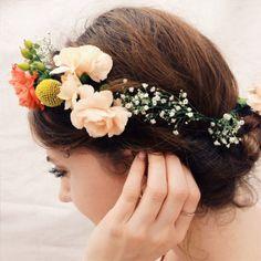 DIY // Floral Headpieces