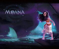 I am Moana! Curly Chief daughter  Princess Choosen one #moana #disney #fanart