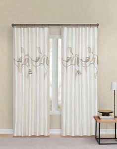manila faux silk lined curtain panel in amethyst