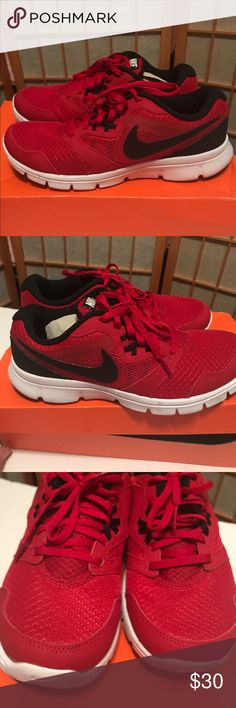 NIKE FLEX EXPERIENCE 3 GS (Big boy) Youth size6Y My son doesn't fit in these, worn once! Great used condition, comes with box, needs to go make me an offer! Ask any questions and bundle for discounts!! Nike Shoes Sneakers