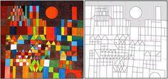 Coloriage-Paul Klee