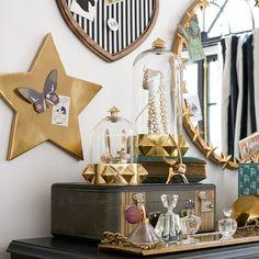 The Emily & Meritt Magnet Stars, Set of 3 Girl Room, Girls Bedroom, Bedroom Decor, Wall Decor, Bedrooms, Bedroom Ideas, Emily And Meritt, Pottery Barn Teen, Bedroom Layouts