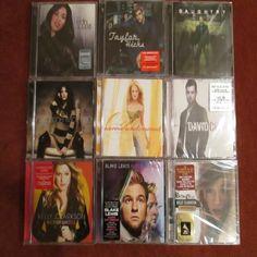 BRAND NEW- never used.  7 #AmericanIdols 7 CDs! #CarrieUnderwood - Carnival Ride, #Chris Daughtry - Daughtry, #JordanSparks -Jordan Sparks, #BlakeLewis -Audio Daydream, #TaylorHicks -Taylor Hicks, #DavidCook -David Cook, #KatherineMcPhee -Katherine McPhee. All 7 for only $19.99 FREE SHIPPING