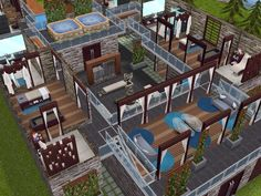 House 62 - Spa Retreat level 2 #sims #simsfreeplay #simshousedesign