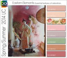 Spring Summer 2014 Color Trends for Young Contemporary  SS 14 1 EASTERN ELEMENTS