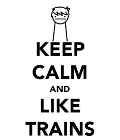 I like trains. Anyone else think of this during Sherlock The Empty Hearse? I did. XD