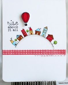 I need this card right now...Rise Above it All Card by @Natalie Dever