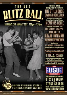 1940s Annual Event Dance Night