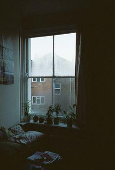 Shadowy room, fall mornings