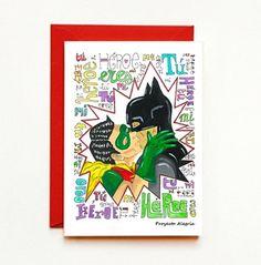 Tarjeta Amor Gay para imprimir. Mi Héroe. Tarjeta imprimible descarga inmediata. Beso gay