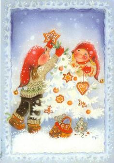 special noel - Page 3 Christmas Tale, Christmas Fairy, Christmas Clipart, Vintage Christmas, Christmas Cards, Creation Photo, Artists For Kids, Winter Art, Christmas Illustration