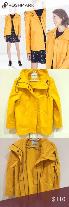 ⚡️PRICE DROP⚡️Zara yellow Utility Jacket Yellow Utility Jacket  In a great condition Zara Jackets & Coats