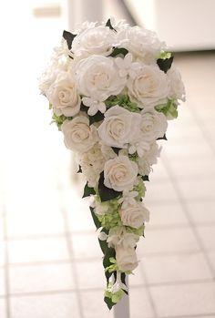 Prachtig professioneel druppel model #bruidsboeket