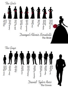 bridal party silhouette clip art google search ideas for jen rh pinterest com Airbrushing Silhouette Clip Art Wedding Party Silhouette Clip Art