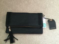 Love my new Stitch Fix clutch #StitchFix Moda Luxe Palermo Stitch Detail Clutch