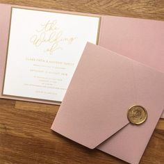 This combination has gone out in sample packs today and isnt it a peach? Rose Pink pocket gold backing card and a faux gold print shown off beautifully by my Modern Calligraphy design. Stationery Design, Wedding Stationery, Wedding Invitations, Invites, Dusky Pink Weddings, Olive Wedding, Gold Print, Has Gone, Modern Calligraphy