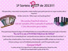 Sorteio by PrintNail http://wp.me/p1x69g-1sk