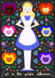 Carly Watts Art & Illustration: Golden Afternoon
